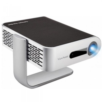 ViewSonic M1+_G2 Smart 300 LED LUMENS Portable WVGA Projector With Harman Kardin Speakers