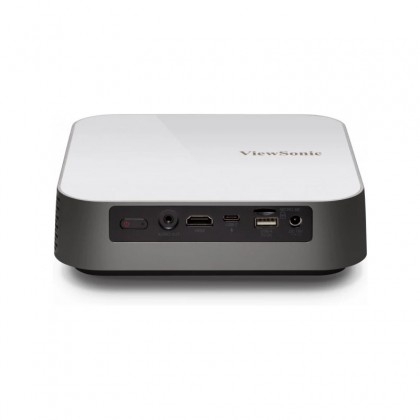 ViewSonic M2E 1000 Lumens Full HD 1080p Smart Portable LED Projector With Wireless And Harman Kardon Speakers