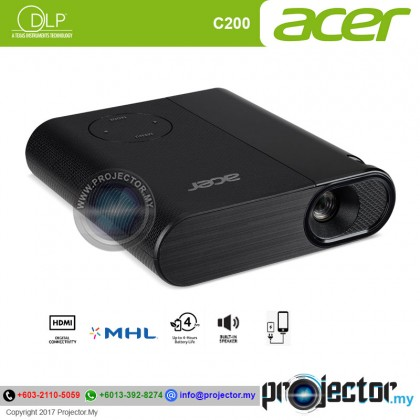 Acer C200 LED Portable Projector