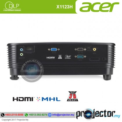 Acer X1123H Essential DLP Projector