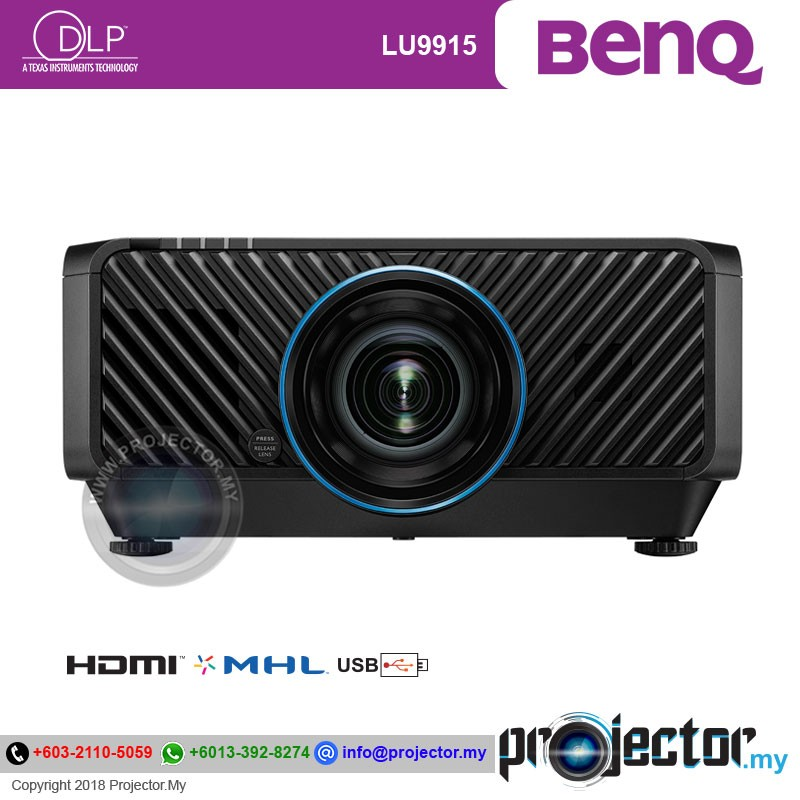 Benq Lu9915 Installation Laser Projector