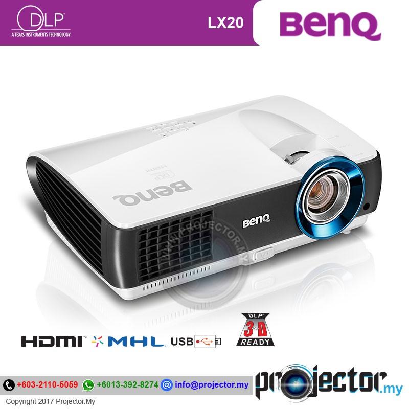 Benq Lx20 Bluecore Laser Projector