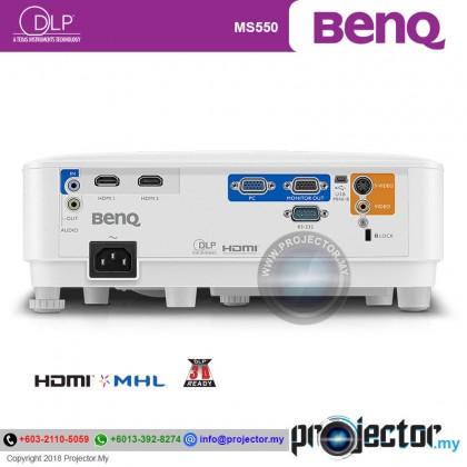 BenQ MS550 SVGA 3600 Lumens Projector