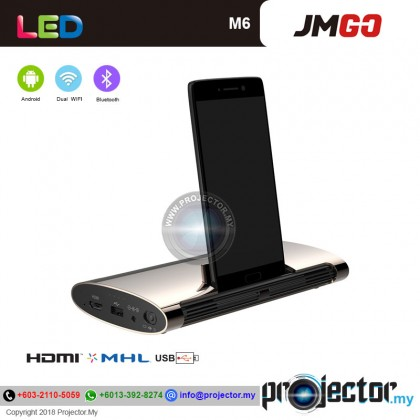JmGO M6 Mini Portable LED Wireless/WIFI Android Projector