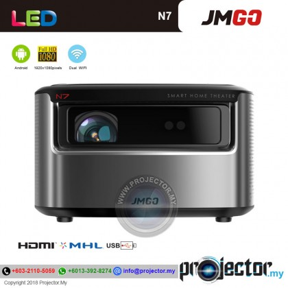 JmGO N7 Mini Portable LED Wireless/WIFI Android Projector