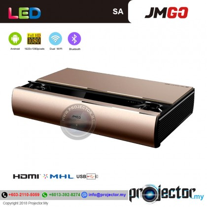 JmGO SA Ultra Short Throw Laser Wireless/WiFi Android Projector