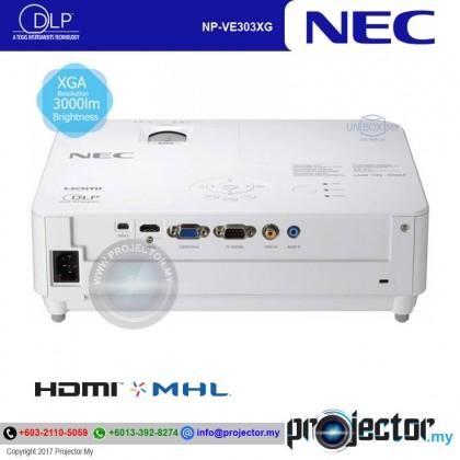 NEC NP-VE303XG XGA 3000 LUMEN PROJECTOR