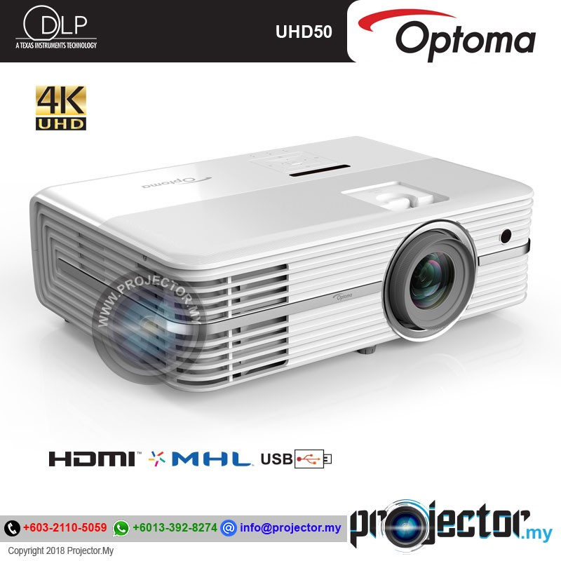 Optoma UHD50 4K Home Theater Projector