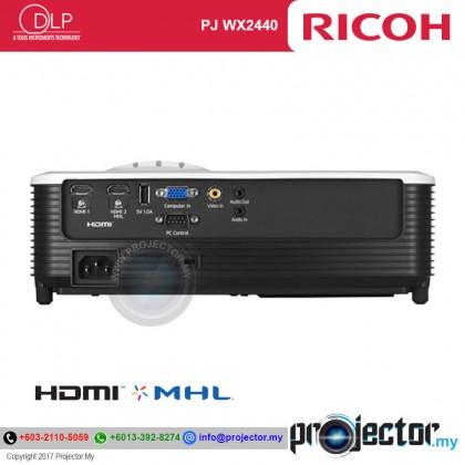 Ricoh PJ WX2440 WXGA Projector