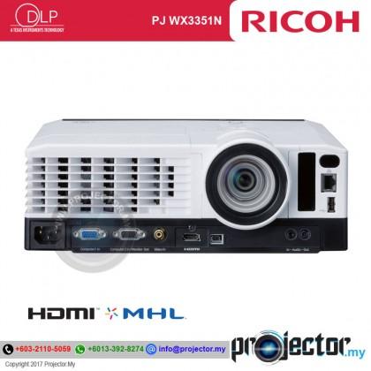 Ricoh PJ WX3351N Short Throw Projector