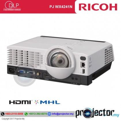 Ricoh PJ WX4241N Short Throw Projector