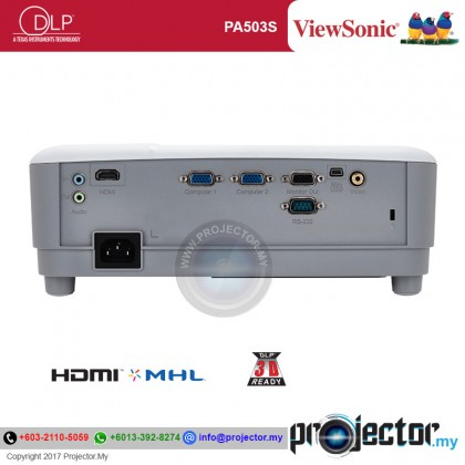 Viewsonic PA503S SVGA Projector