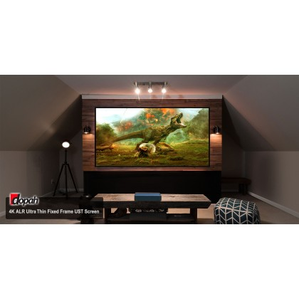 "Dopah 100"" 4K ALR Ultra Thin Fixed Frame UST Screen"
